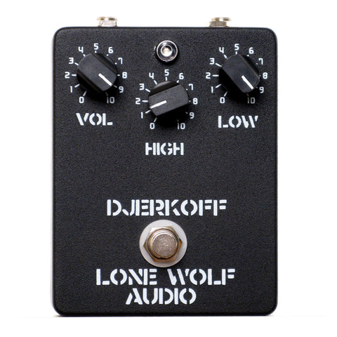Lone Wolf Audio Djerkoff High Headroom Boost