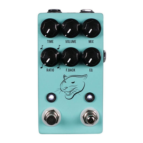 JHS Panther Cub V2 Analog Tap Tempo Delay