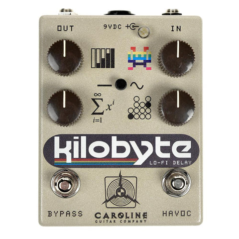 "Caroline Kilobyte Lo-Fi Delay, Limited ""64"" Graphic"