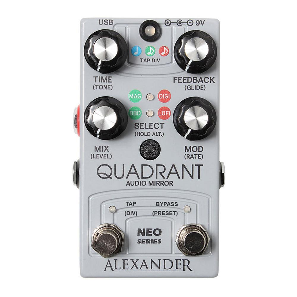Alexander Pedals Quadrant Audio Mirror Delay
