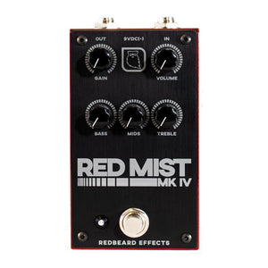 Redbeard Effects Red Mist MkIV Overdrive