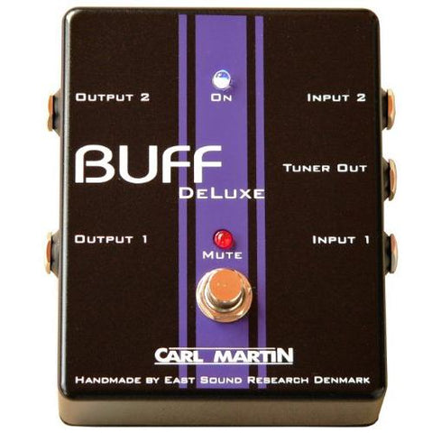 Carl Martin Buff Deluxe Dual No Noise Buffer with Tuner Out
