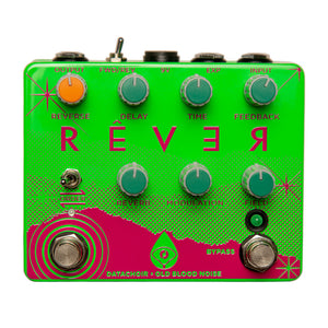 Old Blood Noise Endeavors Rêver Reverse Delay Reverb, Spring Breakers Green
