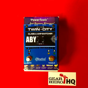 [USED] Radial Tonebone Twin City ABY Amp Switcher