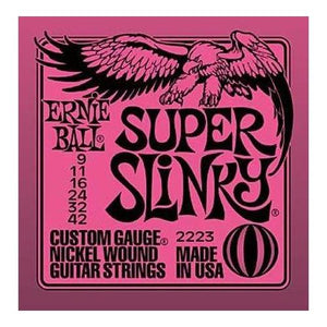 Ernie Ball 2223 Super Slinky Nickel Wound Set (09 - 42)