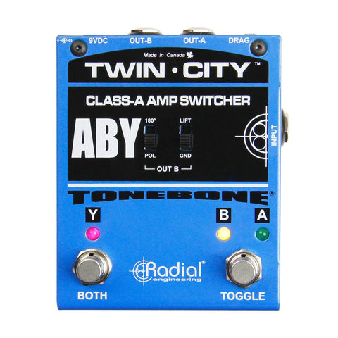 Radial Tonebone Twin City ABY Amp Switcher