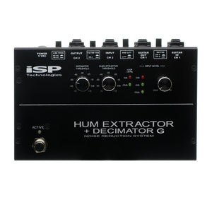 ISP Technologies Hum Extractor + Decimator G Noise Reduction Pedal