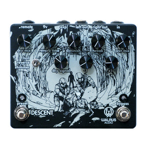Walrus Audio Descent Octave Reverb, Black (Gear Hero Exclusive)