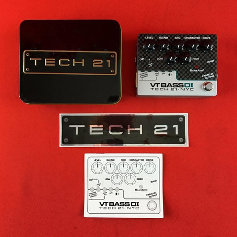 [USED] Tech 21 CS-VTB-DI SansAmp Character Series VT Bass DI