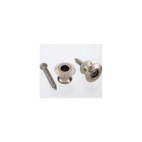 All Parts AP-6582-001 2 Buttons Dunlop Strap Locks, Nickel