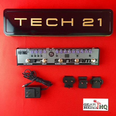 [USED] Tech 21 FL5-V2 Fly Rig 5 V2
