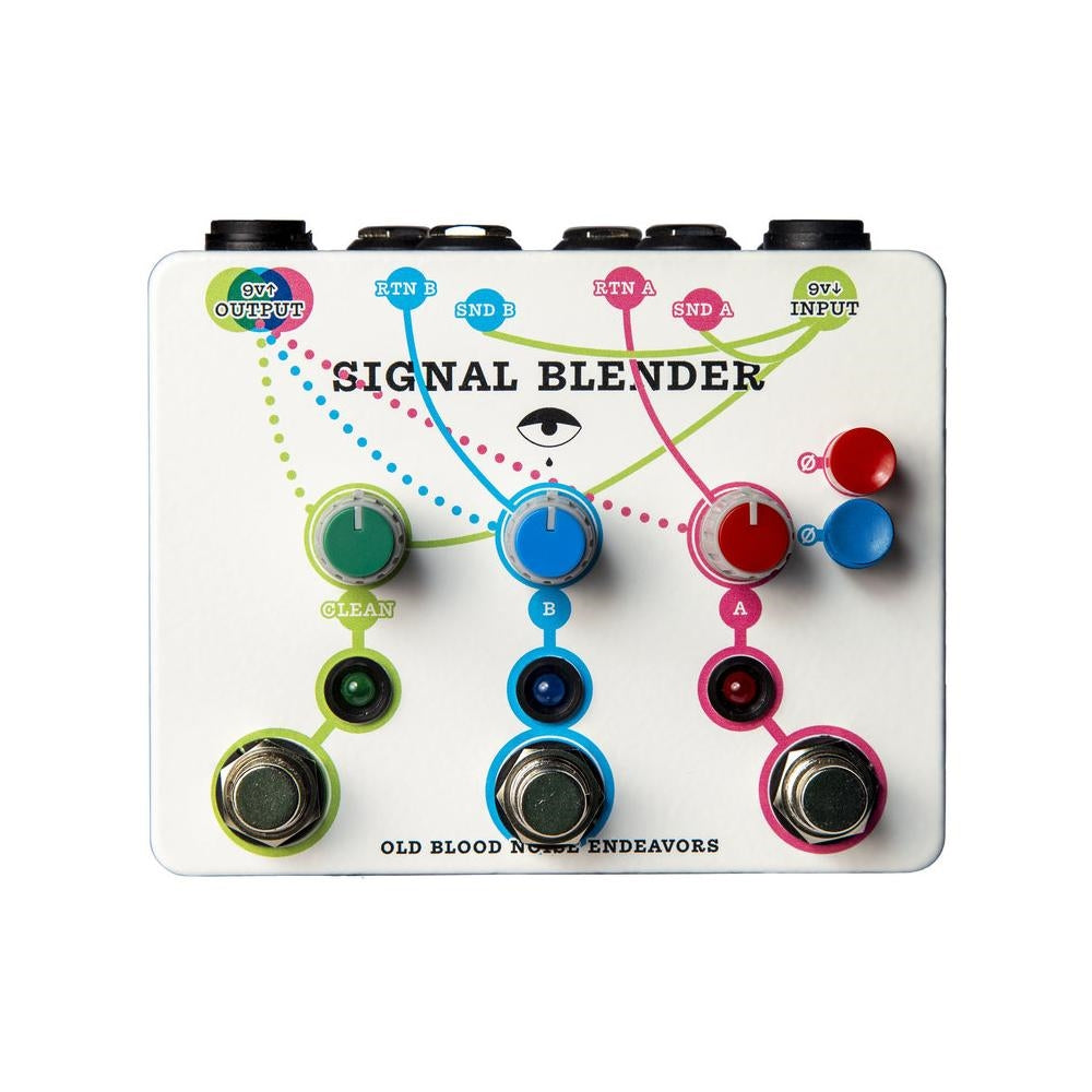Old Blood Noise Endeavors Signal Blender Parallel Mixer