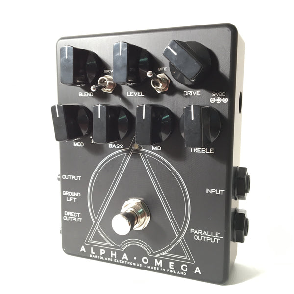 Darkglass Alpha Omega Bass Preamp and Overdrive (Exclusive Black Edition)