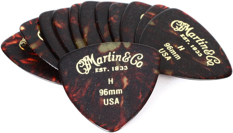 Martin Guitar Picks pack of 12 Heavy