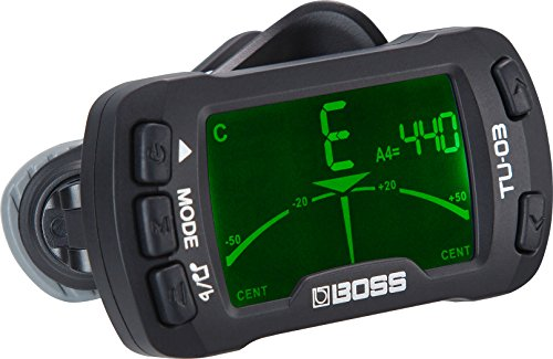 Boss TU-03 Clip-On Tuner and Metronome