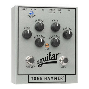 Aguilar Tone Hammer Preamp/DI Box, 25th Anniversary Silver (Limited Edition)