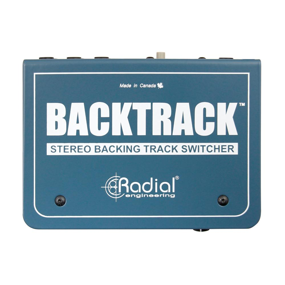 Radial Engineering Backtrack Stereo Audio Switcher