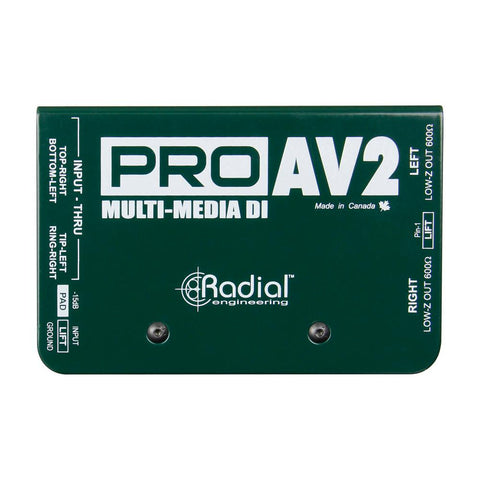 Radial ProAV2 Stereo Multi-Media DI