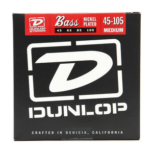 Jim Dunlop DBN45105 Bass Strings Medium 45-105