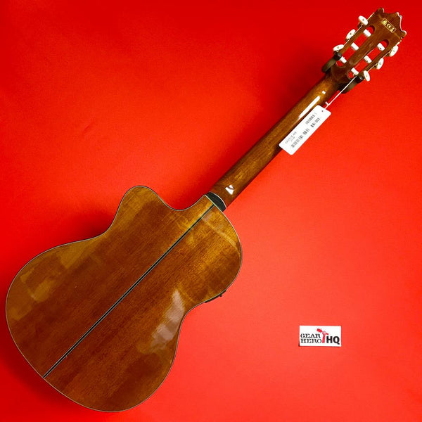 [USED] Ibanez GA Series GA5TCE Thinline Classical Acoustic-Electric Guitar (Natural)