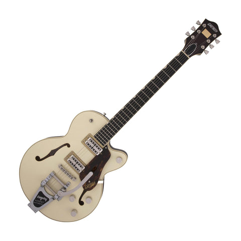 Gretsch G6659T Players Edition Broadkaster Jr. Center Block Single-Cut w/Bigsby, Two-Tone Lotus/Walnut Stain