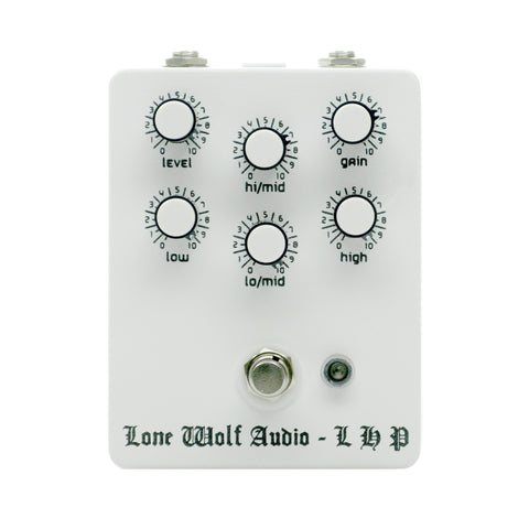 Lone Wolf Audio Left Hand Path Distortion, White (Gear Hero Exclusive)