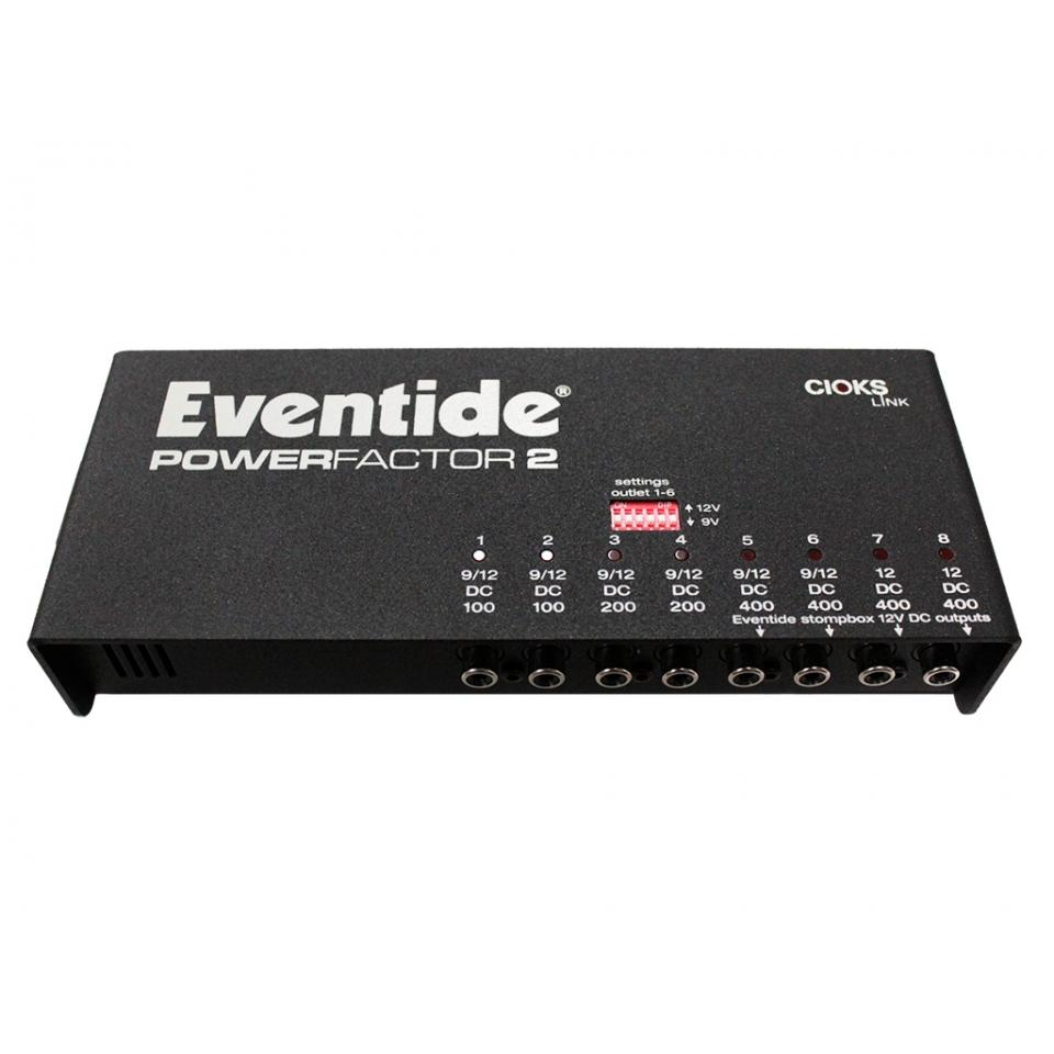 Eventide PowerFactor 2 Pedal Power Supply