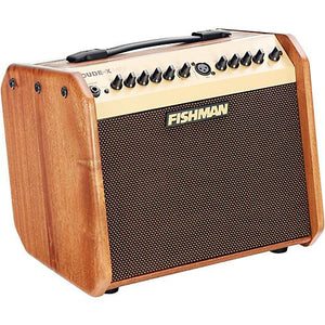 Fishman Loudbox Mini Acoustic Amplifier, Limited Edition Mahogany Wood