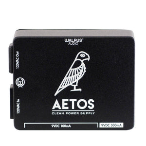 Walrus Audio Aetos 8 Output Power Supply, Black/New Art (Gear Hero Exclusive)