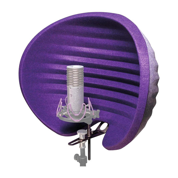 Aston Microphones Halo Portable Microphone Reflection Filter, Purple