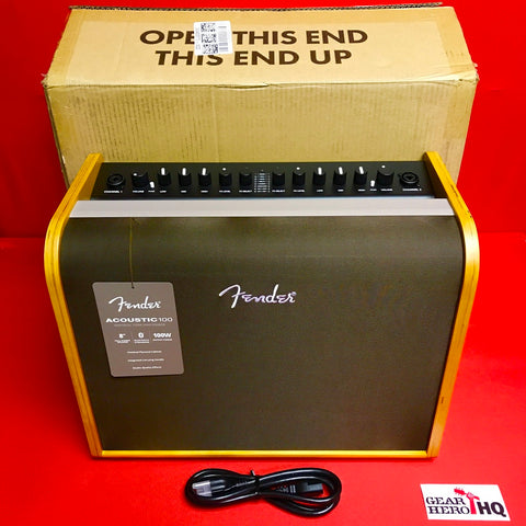 [USED] Fender Acoustic 100 Guitar Amplifier