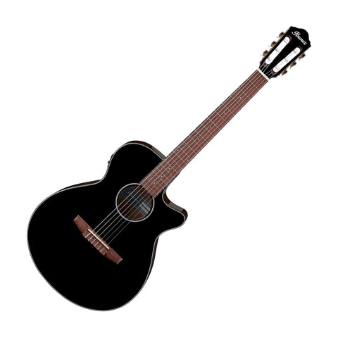 Ibanez AEG50NBKH Acoustic Electric Guitar, Black High Gloss