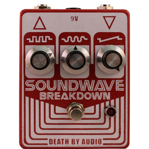 Death By Audio Soundwave Breakdown Fuzz