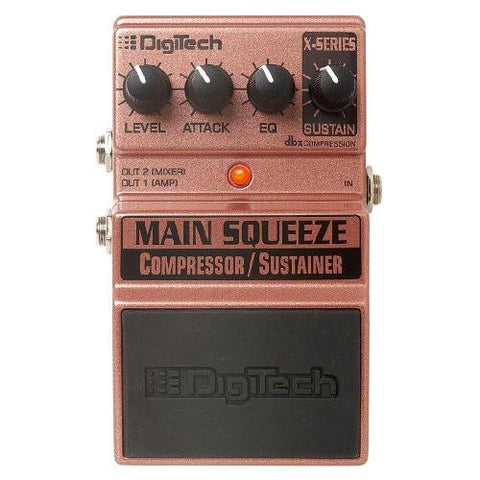 DigiTech XMS Main Squeeze Compressor/Sustainer