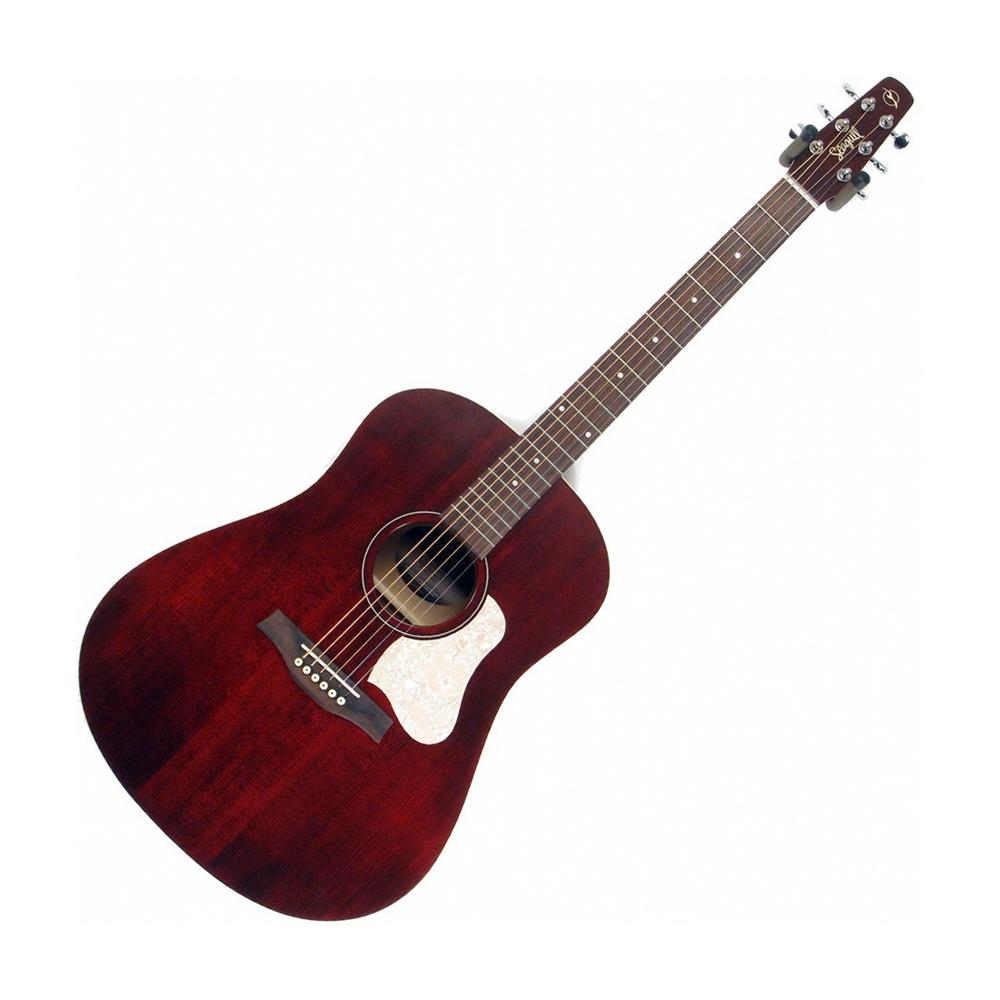 Seagull S6 Original Slim Acoustic Guitar, Tennessee Red (Gear Hero Exclusive)
