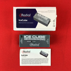 [USED] Radial IC-1 Ice Cube Balanced Line Isolator and Hum Eliminator