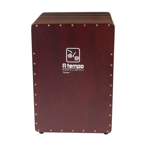 A Tempo Percussion Rayado Cajon, Striped
