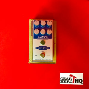 [USED] Origin Effects Cali-76 Compact Deluxe, Blue Invert (Pedal Genie Exclusive)