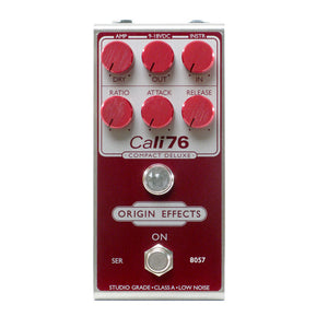 Origin Effects Cali-76 Compact Deluxe, Pedal Genie Red