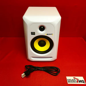 "[USED] KRK RP6G3 6"" High Performance Studio Monitor (White) (See Description)."