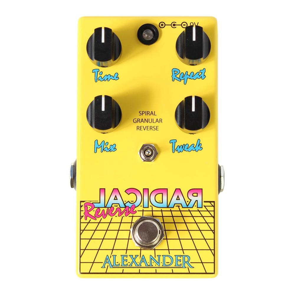 Alexander Pedals Reverse Radical Delay