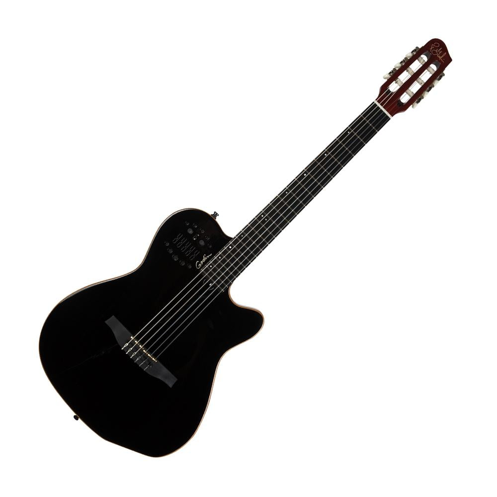 Godin Multiac Series-ACS Guitar (Black Pearl)
