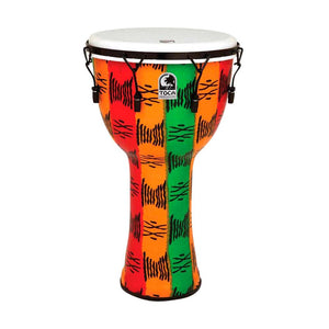 "Toca TF2DM-14SB Mechanically Tuned 14"" Djembe w/Gig Bag, Spirit"