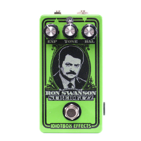 Idiotbox Ron Swanson Super Fuzz