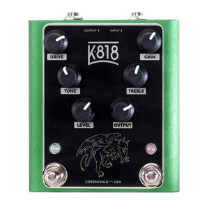 Greenchild K818 Dual Overdrive, Green (Gear Hero Exclusive)