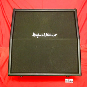 "[USED] Hughes & Kettner TC 412 A60 - 240-watt 4x12"" Angled Extension Cabinet Guitar Amp"