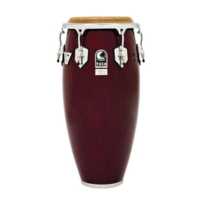 Toca 4611-DW Custom Deluxe Wood Quinto, Dark Wood Finish