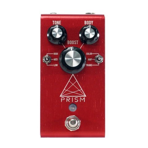 Jackson Audio Prism Preamp/Boost/Overdrive, Red