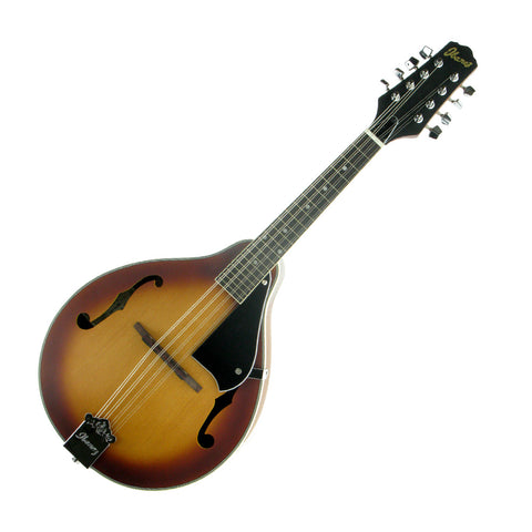 Ibanez M510-LBS Mandolin, Satin Light Brown Sunburst (Gear Hero Exclusive)