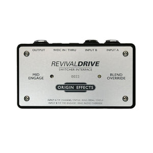 Origin Effects SW-1 RevivalDRIVE Switcher Interface